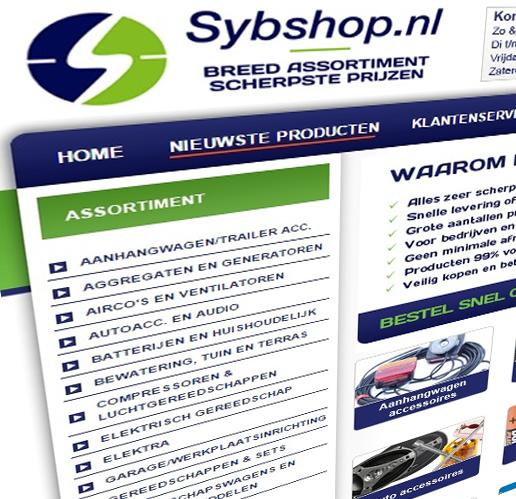 Sybshop webshop