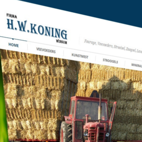 Website Koning Fourage